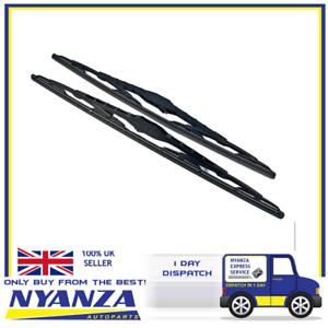 2-x-22-Inch-Brand-New-Conventional-Windscreen-Wiper-Blades-Windowscreen