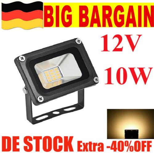 10W 12V LED Flutlicht Lampe Flutlicht Garten Outdoor Yard Bulb Hanging Street