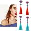 1-Pair-Fashion-Women-Vintage-Crystal-Chandelier-Long-Tassel-Drop-Dangle-Earring thumbnail 2