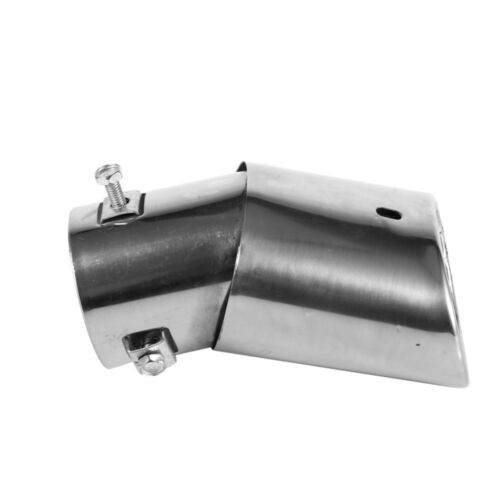 Chrome Stainless Steel Auto Modified Exhaust Pipe Tip Tail Muffler Car Styling