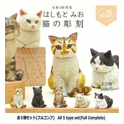 Kitan club cute cat for headgear All 5 set Gashapon mascot toys Complete set