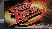 Target Store. Mattel Toy Speed Racer Display Board Sign Hard To Acquire. Mint