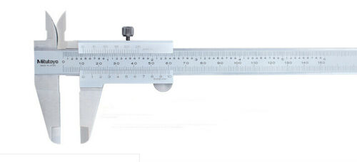 Japan Mitutoyo 530-104 Vernier Caliper Metric Inch Range 0-150mm 0-6in 0.02mm