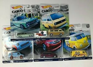 SALE-CARGO-Carriers-5-Car-Set-Hot-Wheels-Car-Culture-JA6