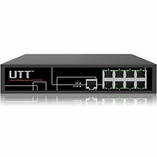 UTT S1081P-24V 8-port Desktop Passive PoE Switch