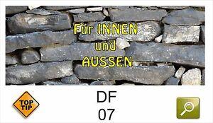 Klebefolie dekorfolie deko df07 trockenmauer graue for Graue klebefolie