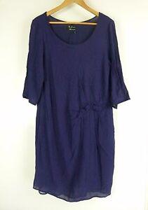 FREE-WOMAN-Dress-Sz-16-Purple