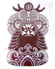Limited Edition-Handmade Chinese Paper Cutting Art by Chinese Local Artist-NYC