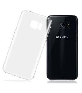 Funda-de-gel-TPU-carcasa-silicona-para-Samsung-Galaxy-S7-Edge-Transparente