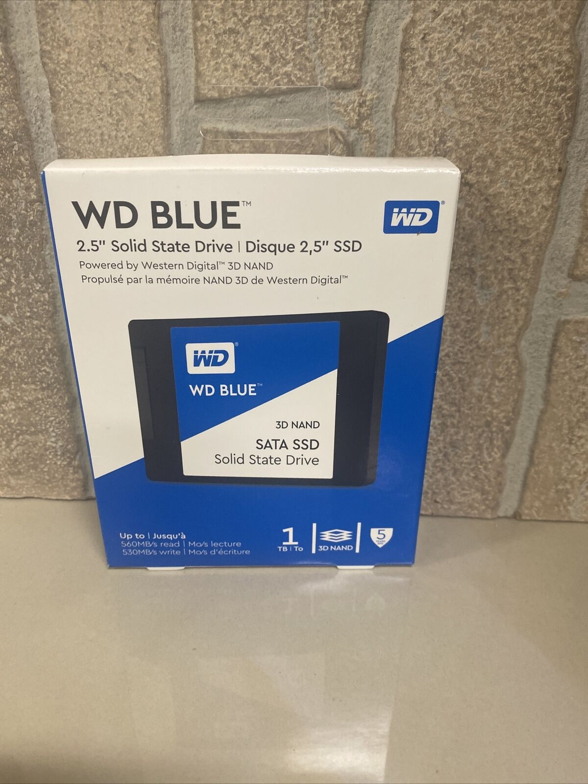"WD Blue 2.5"" 3D NAND SATA SSD Solid State Drive 1TB - **NEW**. Buy it now for 97.99"