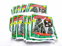 24 Packs Giant Silver Stuff-an-ornaments Outdoor Christmas Tree Decorations 22