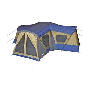Ozark Trail Cabin Tent 14 Person Outdoor Camping Hiking ...