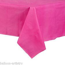54x108in ROSA BRILLANTE PLASTIC Tablecover TOVAGLIE Panno WEDDING RISTORAZIONE