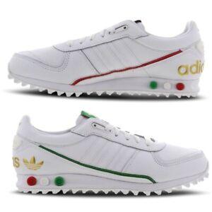 Dettagli su ADIDAS LA TRAINER 2.0 Sneaker Uomo Italia Italiano OMAGGIO Scarpe Bianche Tutte Le Taglie mostra il titolo originale