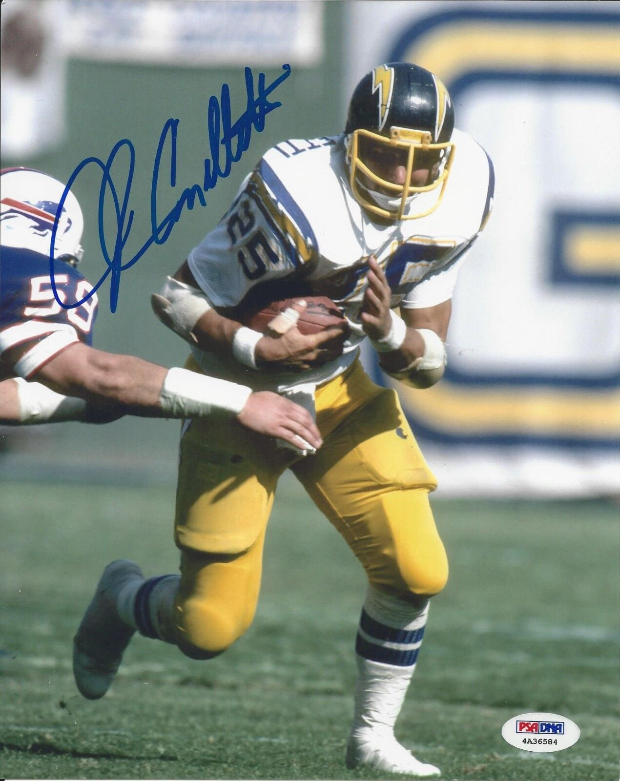 John Cappelletti San Diego Chargers Signed 8x10 PSA/DNA # 4A36584