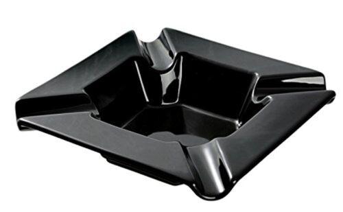 Angelo Keramik Zigarrenascher schwarz 4er