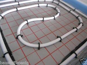 Dämmung Fußboden Rohre ~ Fußbodenheizung komplettsett warmwasser fsbh rohr dämmung