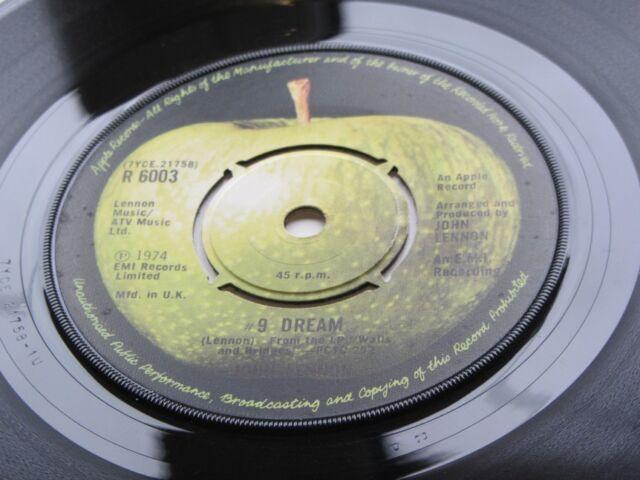 JOHN LENNON Original 1973 REINO UNIDO 45 9 Dream / WHAT YOU GOT