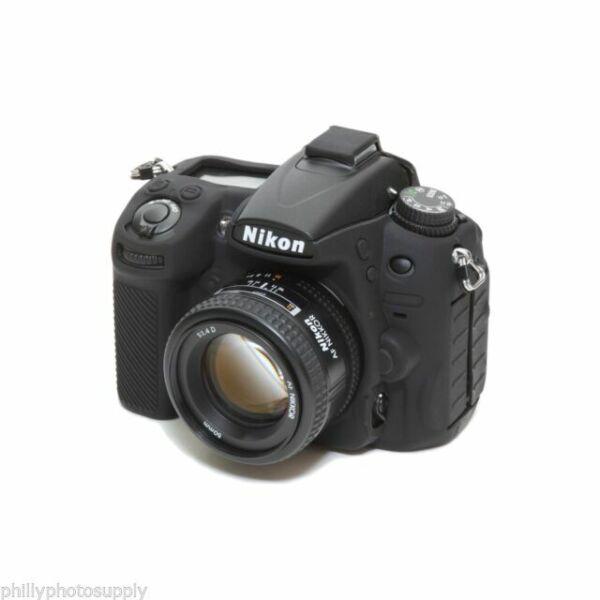 EasyCover Silicone Armor Skin Case Cover Protector for Nikon D750 Camera Black