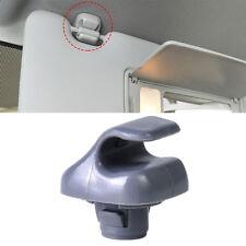 Gray Sun Visor Clip Hook Holder Fit For Honda Accord Civic CR-V Odyssey 99-2010