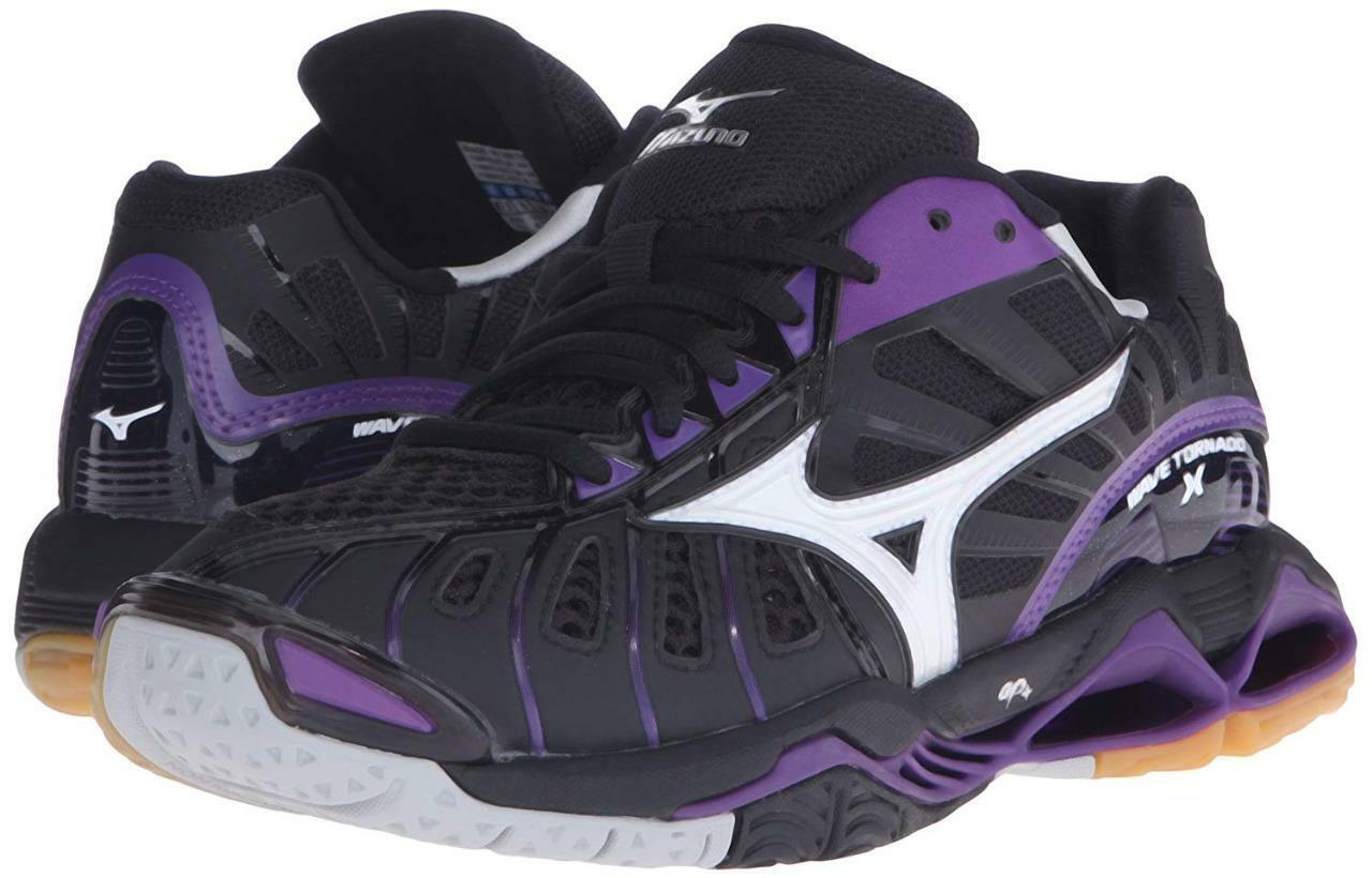 New New New Donna  Mizuno Wave Tornado X 10 Volleyball scarpe Dimensione 6-13 430200-9060 591e04