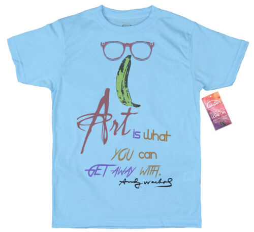 Velvet Underground Art is what you can get away with Design T-shirt Andy Warhol