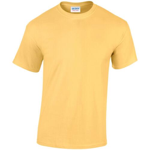 Gildan Heavy T-Shirt 5000 Unisex Short Sleeve Casual Cotton T-Shirt