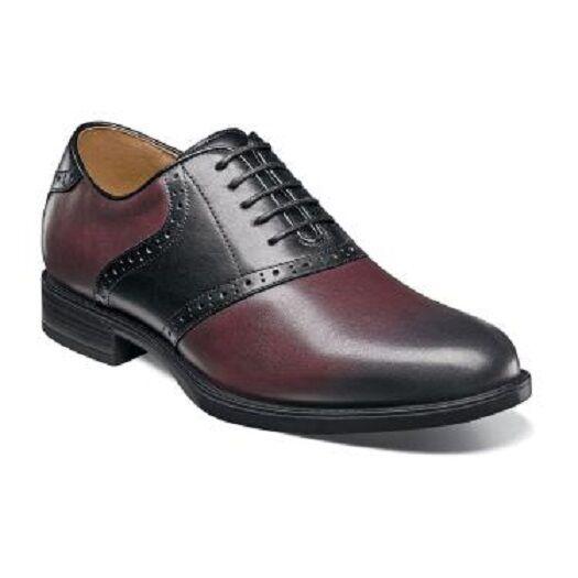 vendita online sconto prezzo basso Uomo scarpe scarpe scarpe  Florsheim Midtown Saddle Burgundy Multi Leather 12158-641  la vostra soddisfazione è il nostro obiettivo