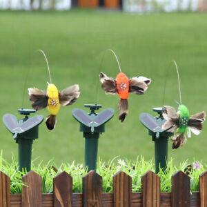 Solar Betrieben Süßigkeiten Flügel Falsche Kolibri Hof Garten Deko Anhänger