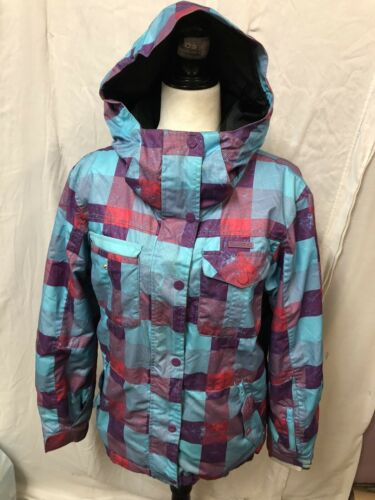 Women's Billabong Multi Color Ski Jacket Coat Sz … - image 1