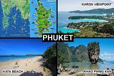 SOUVENIR FRIDGE MAGNET of PHUKET THAILAND