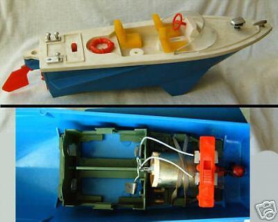 Antiguo Modelo De Plástico Juguete URSS 1971 lancha a motor
