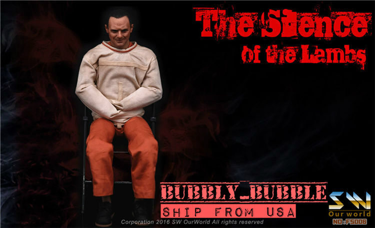 IN STOCK 1 6 The Silence of The Lambs Dr. Hannibal Figure Full Set SHIP FROM USA