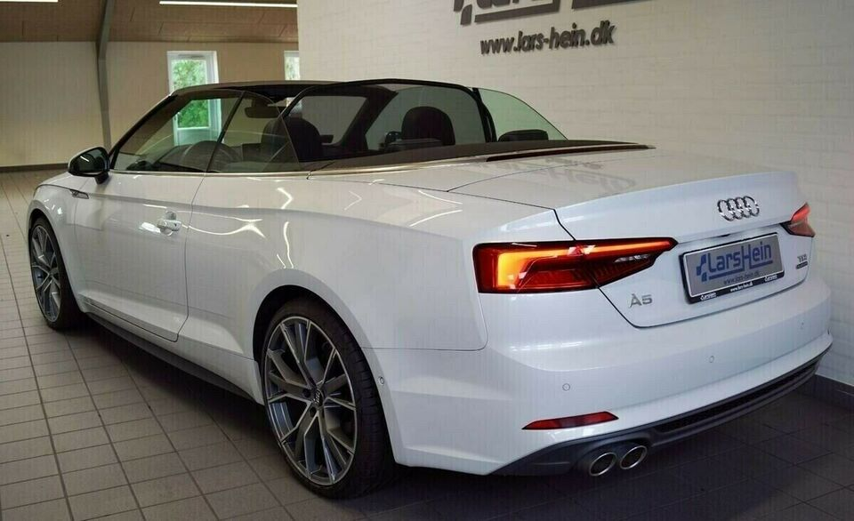 Audi A5 3,0 TDi 218 Sport Cabrio quat S-tr Diesel 4x4 4x4 aut.