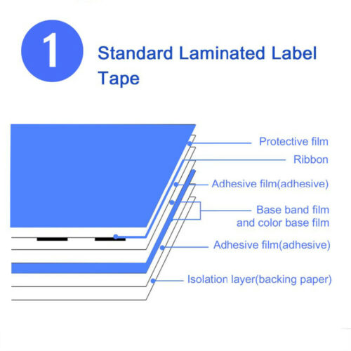 5PK TZ231 TZe-231 Compatible for Brother P-touch Label Tape 12mm White PT-D200