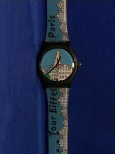 Paris-Watch-Tour-Eiffel-Paris-Blue-Plastic-Band-with-Paris-Skyline