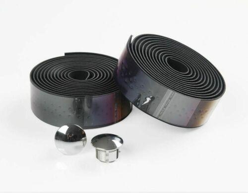 2 Rolls Bicycle Road Bike Sports Cork Handlebar Tape And 2 Bar Plug With Holes