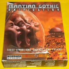 MARTIAN GOTHIC UNIFICATION Pc Versione Italiana 1ª Edizione Big Box ••• COMPLETO