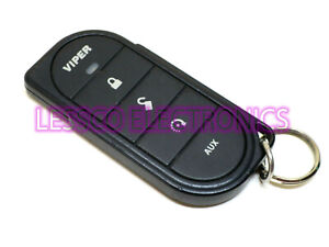 w/ Free Program Info - Viper 7656V Replacement Transmitter Remote Fob