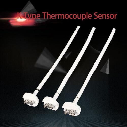 K Type Haute température Capteur Thermocouple pour four à céramique 2372 ℉ 1300