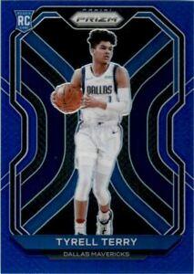 2020-21 Panini Prizm Prizms Blue #259 Tyrell Terry /199