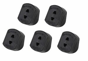 5x Shaver Adaptor UK to 2 Pin Socket Plug Fuse for ...