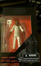 Star Wars Admiral Ackbar tfa walmart exclusive Super articulated 3.75