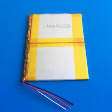 7.4V 3000mAh LiPo Battery 40140100 for Tablet PC Power Bank Mobile Phone DVD MID