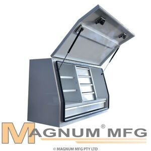 1220x505x705mm White Heavy Duty Steel Toolbox Ute Truck Tool Box Storage 5 Drawe 9312046274101
