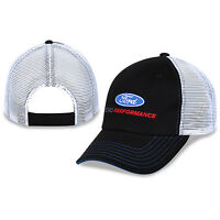 Ford Performance Cotton, Polyester, Black, White Mesh Hat Embroidered, Licensed