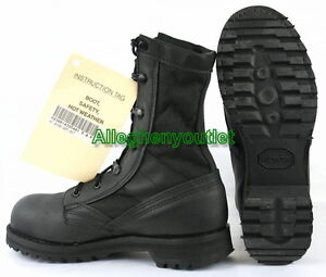 US Military Belleville HWS Hot Weather Safety STEEL TOE COMBAT ...