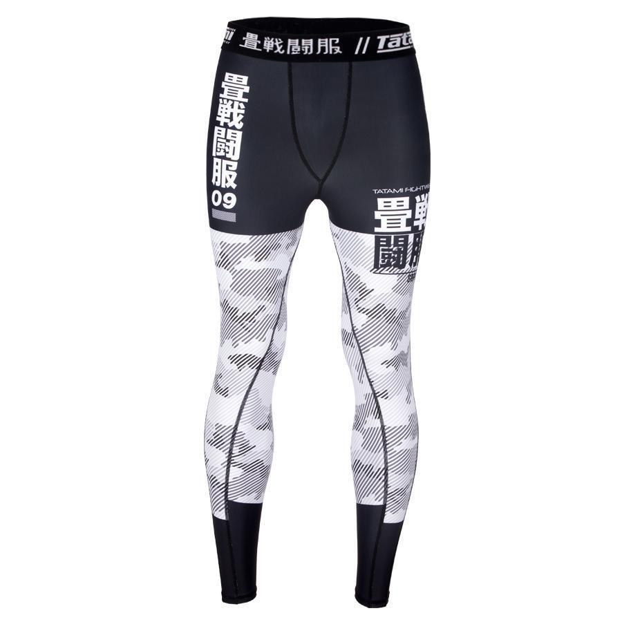 Tatami Interstellar BJJ Spats Mens MMA Jiu Jitsu Compression Tights Gym