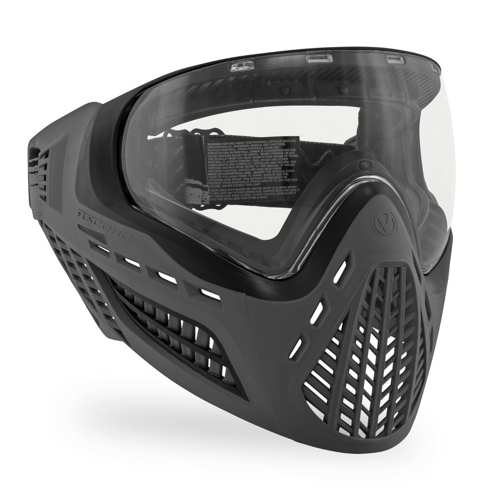 Virtue VIO Ascend AF Paintball Goggle   Mask - Charcoal