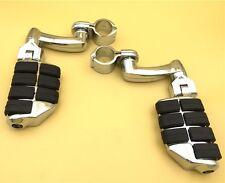 "Chrome 1"" Large Footpegs For Honda GoldWing VTX1300 Shadow Valkyrie Triumph"